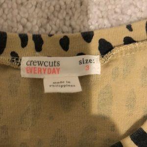 Crewcuts Dresses - Crew cuts Cheetah dress 3T